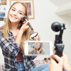 video pour un blog maquillage