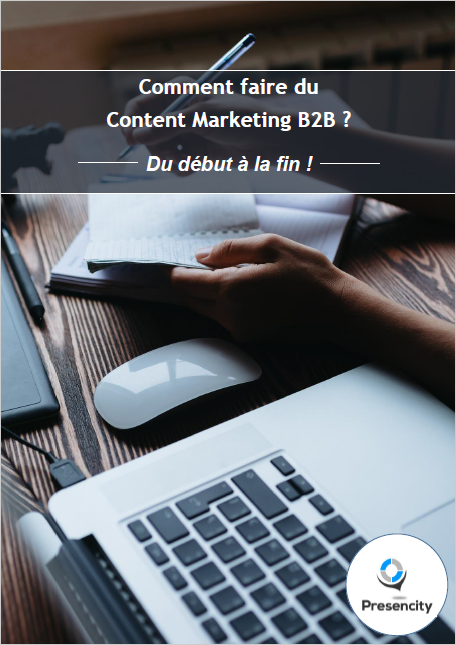 Cover comment faire du content marketing b2b