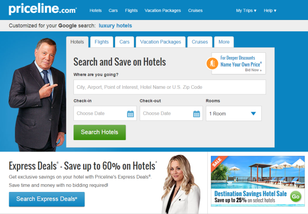 Priceline Pointeur Direction