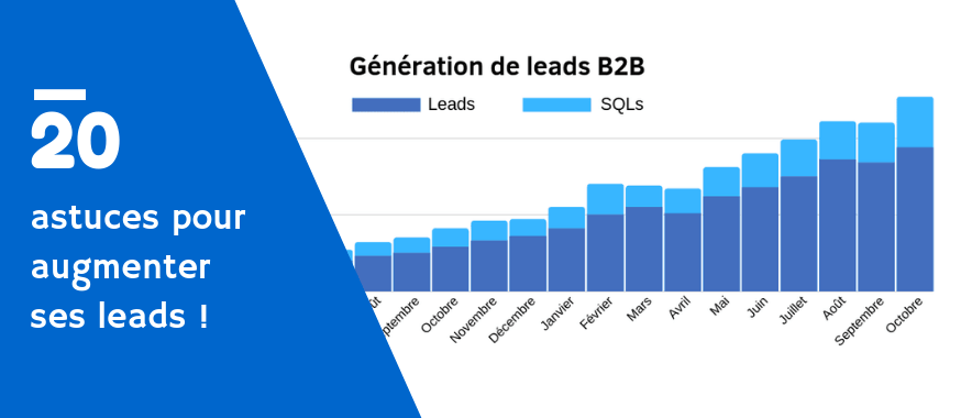 comment augmenter leads